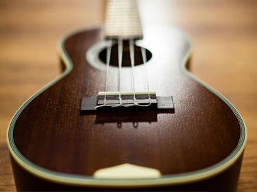 metà senza grassi e mezzo ukulele